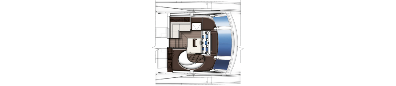 Azimut Grande 30 Wheel House