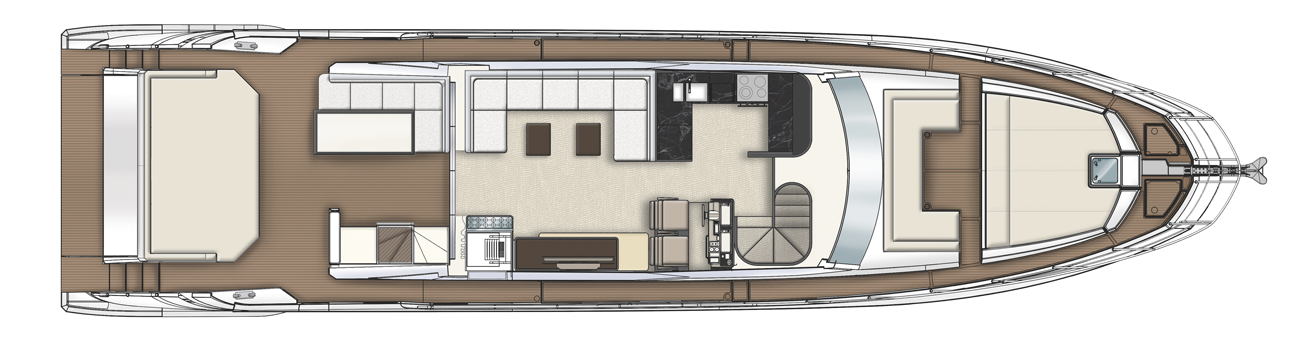 Azimut Azimut S7 Coupe Main Deck