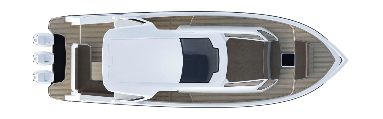 Azimut Verve 40 Above View